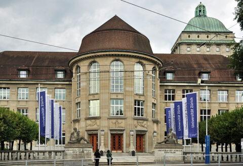 Hauptgebäude der Uni Zürich.